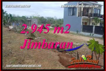 Beautiful PROPERTY 2,945 m2 LAND FOR SALE IN JIMBARAN BALI TJJI132