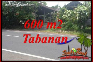 Affordable Property 600 m2 Land in Tabanan Selemadeg for sale TJTB400