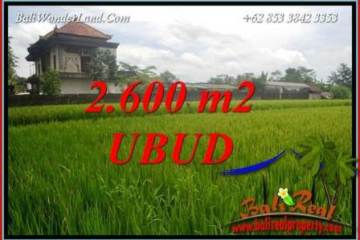 FOR sale Magnificent Property Land in Ubud TJUB701