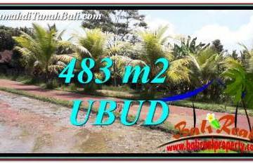 Exotic UBUD BALI 483 m2 LAND FOR SALE TJUB752