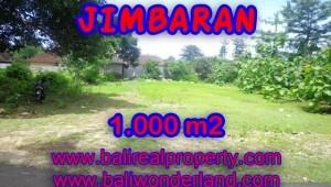 Land in Bali for sale, fantastic view in Jimbaran Bali – TJJI063