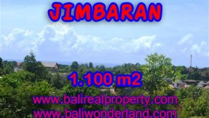 Land in Bali for sale, Stunning view in Jimbaran Bali – TJJI067