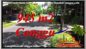Beautiful 945 m2 LAND IN CANGGU FOR SALE TJCG210