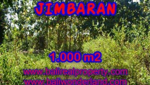 Land in Bali for sale, astounding view in Jimbaran Bali – TJJI071