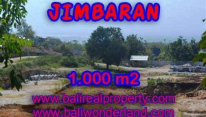 Magnificent Land for sale in Bali, villa and residential environment in Jimbaran Ungasan Bali – TJJI073