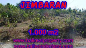 Land for sale in Bali, exceptional view in Jimbaran Ungasan – TJJI074