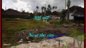 FOR SALE Magnificent PROPERTY 500 m2 LAND IN TABANAN BALI TJTB201