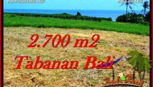 Beautiful TABANAN BALI 2,700 m2 LAND FOR SALE TJTB286