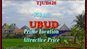 Exotic LAND FOR SALE IN Sentral Ubud BALI TJUB428
