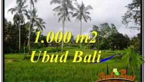 Magnificent 1,000 m2 LAND FOR SALE IN UBUD BALI TJUB570