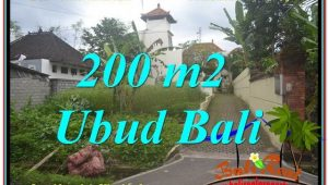 FOR SALE Affordable 200 m2 LAND IN UBUD TJUB632
