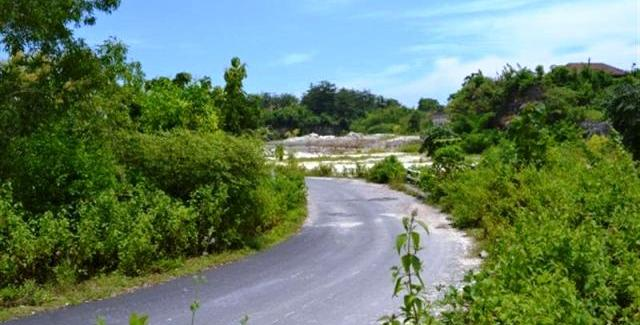 Land in Jimbaran for sale 11,700 sqm Stunning view