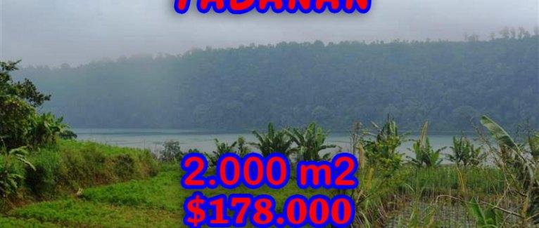 Land in Bali for sale, incredible view in Tabanan Bedugul Bali – TJTB061