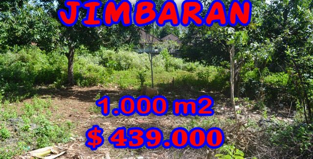 Land in Bali for sale, Stunning view in Jimbaran Bali – TJJI041