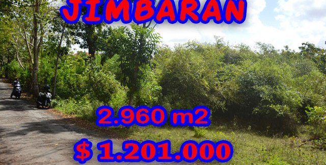Land in Bali for sale, extraordinary view in Jimbaran Ungasan – TJJI036