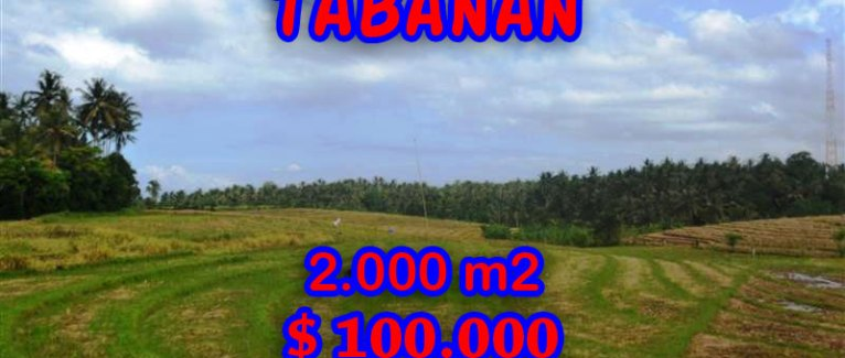 Land in Bali for sale, extraordinary view in Tabanan Tanah Lot – TJTB055