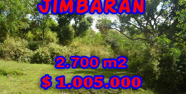 FantasticLand for sale in Bali, Garden View land for sale in Jimbaran Ungasan