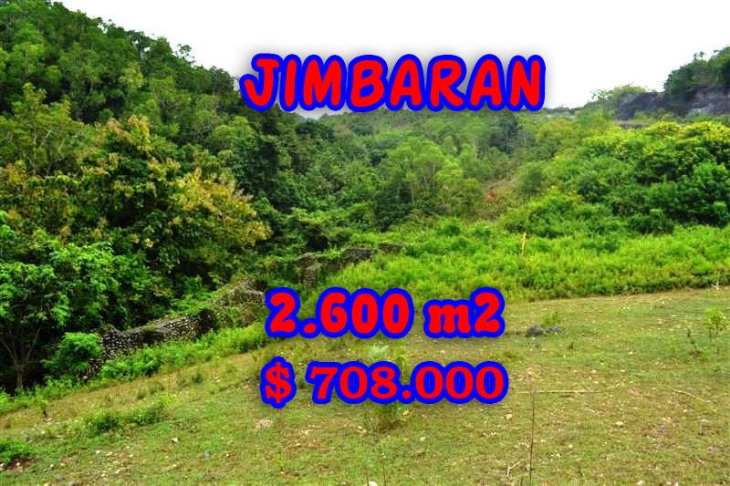 Land for sale in Bali, Fantastic view in Jimbaran Bali – TJJI032