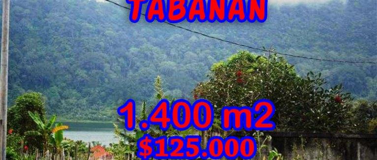 Land for sale in Bali, Fantastic view in Tabanan Bedugul – TJTB062