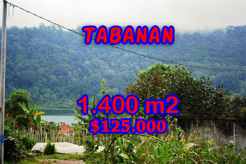 Land for sale in Bali, Fantastic view in Tabanan Bedugul – TJTB062