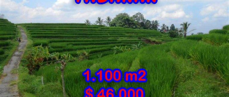 Land in Bali for sale, Terrific view in Tabanan Penebel – TJTB052