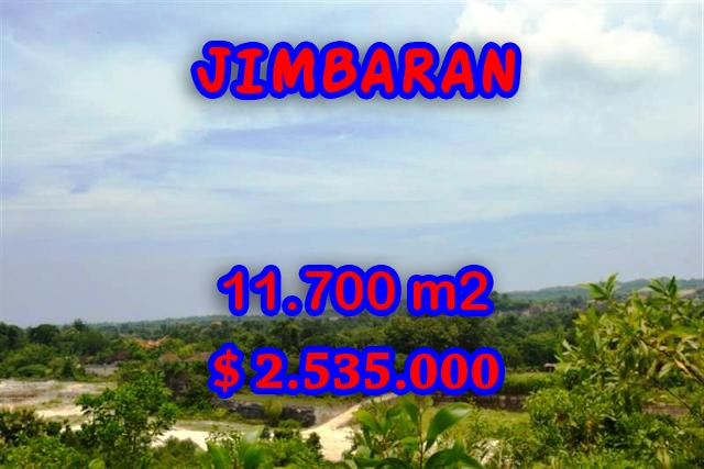 Property for sale in Jimbaran Bali, Terrific land for sale in Jimbaran Uluwatu  – 11.700 m2 @ $ 217