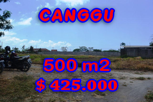 Stunning Land for sale in Bali, rice paddy view in Canggu Bali - TJCG122