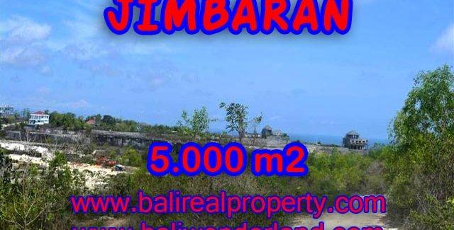 Land in Bali for sale, Extraordinary view in Jimbaran Bali – TJJI049