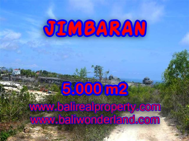Land in Bali for sale, Extraordinary view in Jimbaran Bali – TJJI049