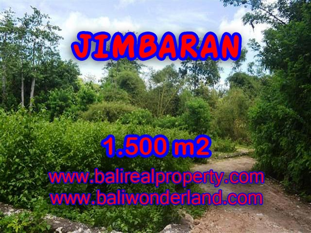 Magnificent PROPERTY JIMBARAN BALI 1,500 m2 LAND FOR SALE TJJI069