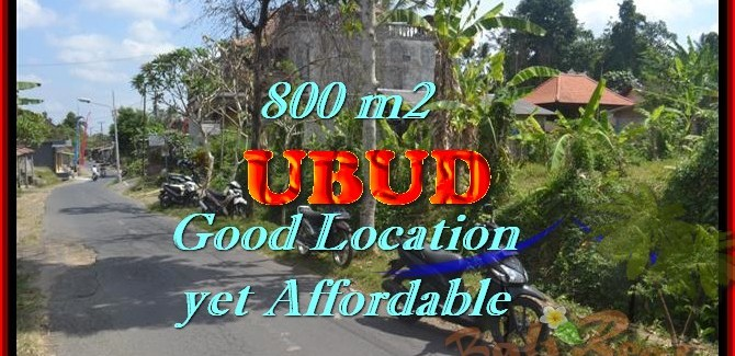 Land for sale in Bali, astonishing view in Ubud Center Bali – TJUB426