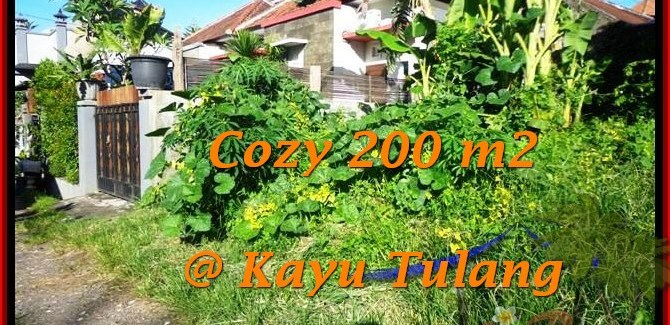 Affordable LAND IN Canggu Kayutulang  BALI FOR SALE TJCG173