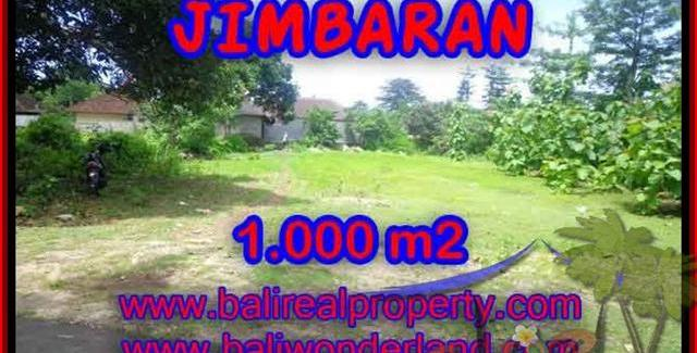 Exotic 1,000 m2 LAND FOR SALE IN Jimbaran four seasons BALI TJJI063