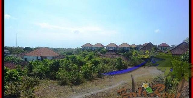 Exotic 1,000 m2 LAND SALE IN Jimbaran Ungasan BALI TJJI074