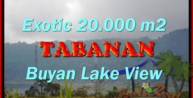 Affordable PROPERTY 20,000 m2 LAND SALE IN TABANAN BALI TJTB163