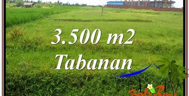 FOR SALE Exotic LAND IN TABANAN BALI TJTB302