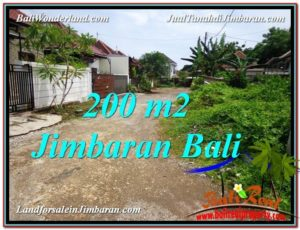 Beautiful Jimbaran Ungasan 200 m2 LAND FOR SALE TJJI106