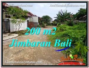 Beautiful Jimbaran Ungasan 200 m2 LAND FOR SALE TJJI106