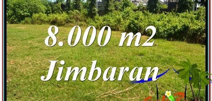 Exotic PROPERTY 8,000 m2 LAND SALE IN JIMBARAN BALI TJJI109
