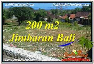 FOR SALE Exotic PROPERTY 200 m2 LAND IN JIMBARAN BALI TJJI104