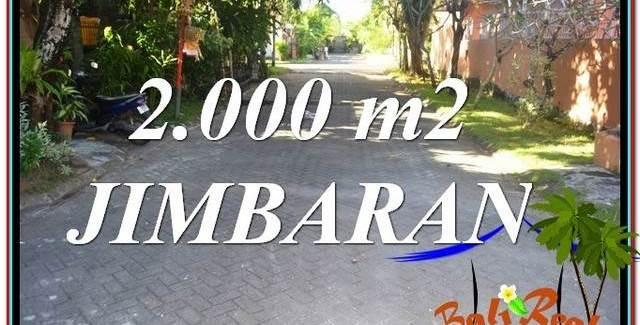 Magnificent PROPERTY 2,000 m2 LAND SALE IN JIMBARAN TJJI115