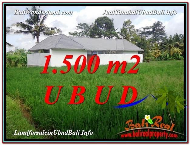 Exotic LAND SALE IN Sentral Ubud BALI TJUB600