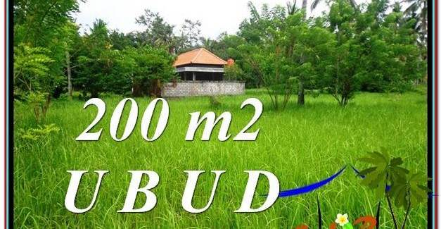 Affordable LAND IN Sentral Ubud BALI FOR SALE TJUB584