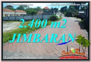 FOR SALE 2,400 m2 LAND IN Jimbaran Uluwatu  BALI TJJI110