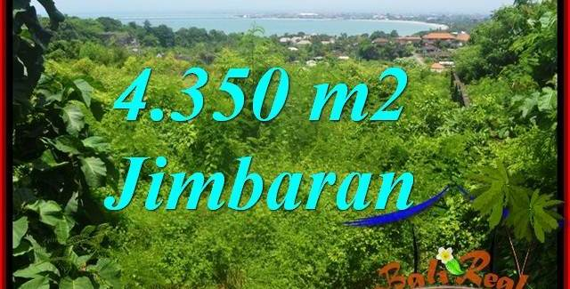 Exotic PROPERTY 4,350 m2 LAND IN Jimbaran Ungasan BALI FOR SALE TJJI120