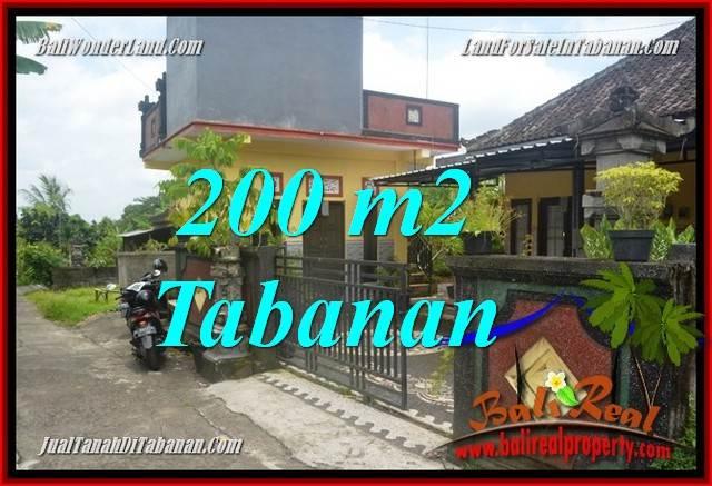 Beautiful PROPERTY 200 m2 LAND FOR SALE IN TABANAN BALI TJTB359