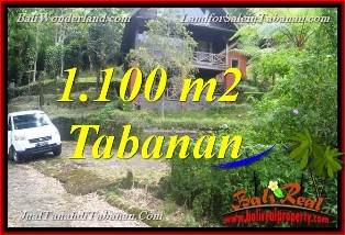 Magnificent 1,100 m2 LAND IN TABANAN FOR SALE TJTB371