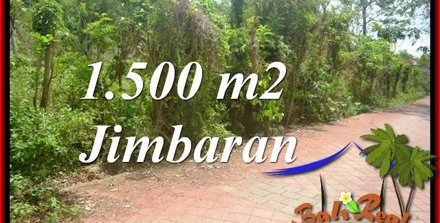 FOR SALE Affordable 1,500 m2 LAND IN JIMBARAN TJJI128