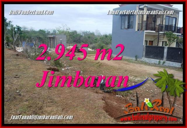 Magnificent 2,945 m2 LAND IN JIMBARAN BALI FOR SALE TJJI132