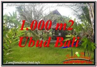 Magnificent PROPERTY LAND FOR SALE IN SENTRAL UBUD TJUB680